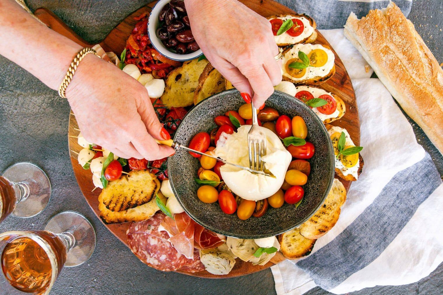Burrata Platter