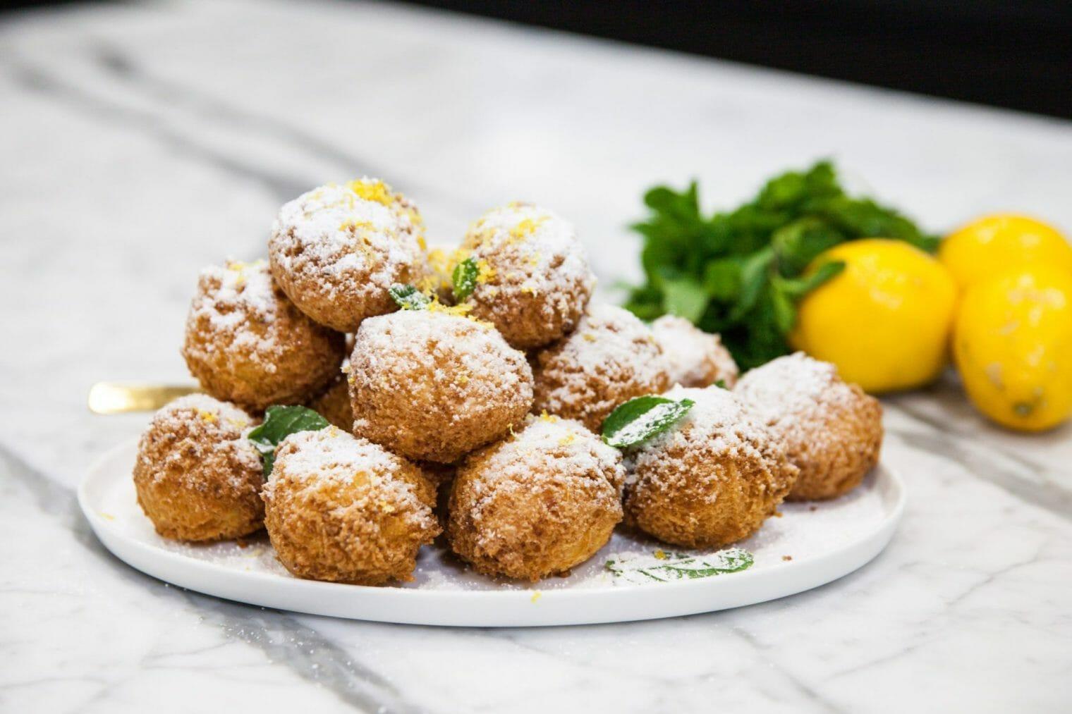 Gluten Free Ricotta Donuts